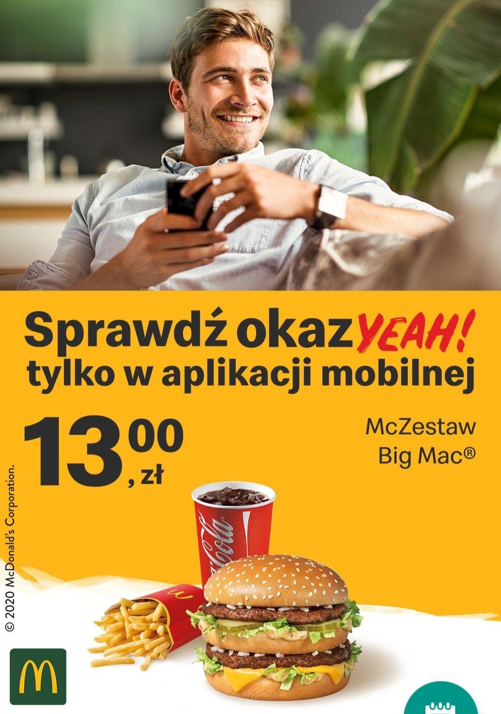 McDonald Zestaw Big Mac