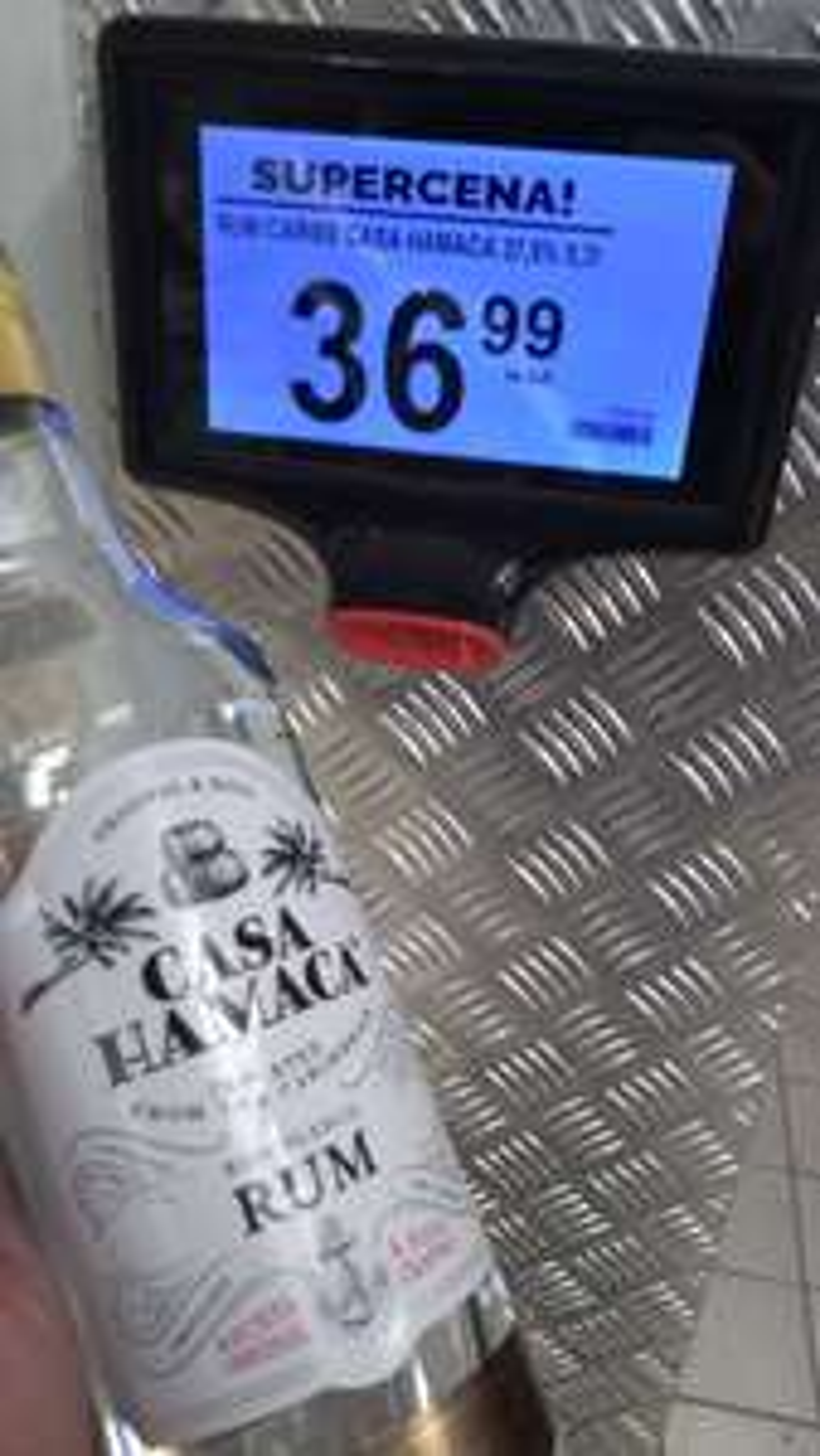 Rum Casa Hamaca 0,7l z Karaibów w Biedronka