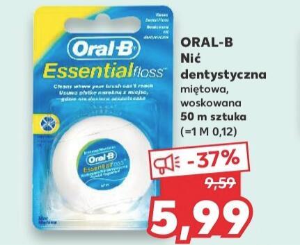 Nić dentystyczna ORAL-B Essential Floss - Kaufland