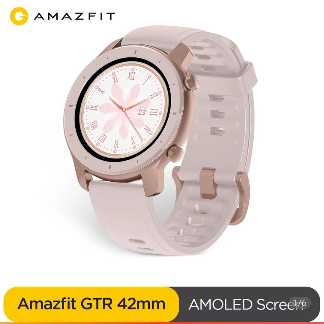 Amazfit GTR 42 cherry blomssom pink US $110.99