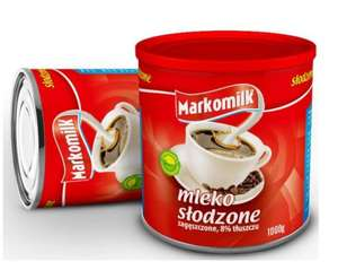 Mleko zagęszczone skondensowane słodzone 1 kg Plus inne przykłady