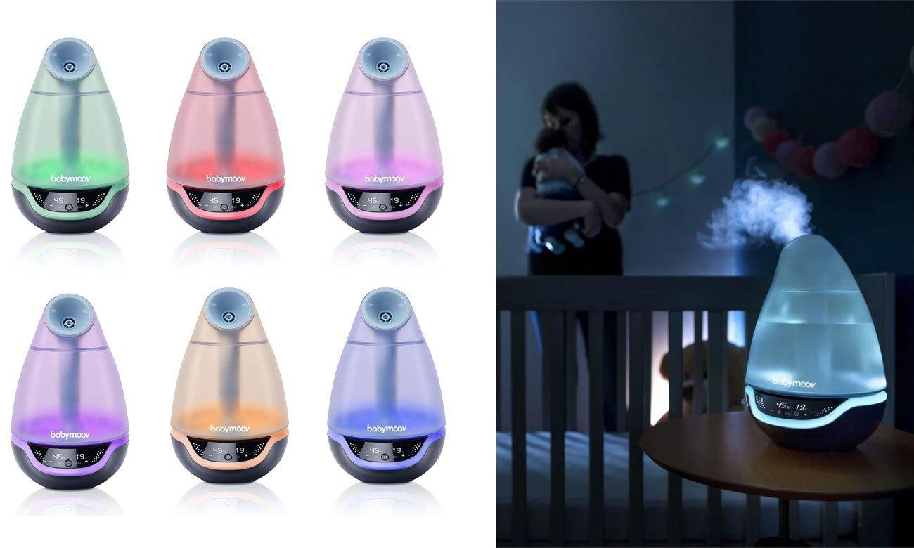 Babymoov Hygro+ Ultradźwiękowy nawilżacz powietrza AL.TO