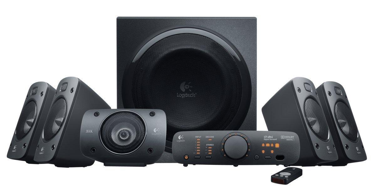 Głośniki Logitech Z906 5.1 za ok. 885zł @ Amazon.de