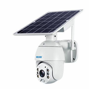 Zewnętrzna kamera ESCAM QF480 (Full HD, tryb nocny, panel solarny, LTE) z wysyłką z Czech @ Banggood