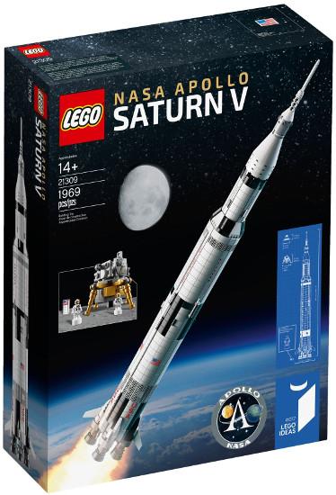 Dobra cena za LEGO Ideas 21309 - Rakieta NASA Apollo Saturn V