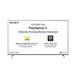 Telewizor SONY KD-65XH9005 w MediaMarkt - 500zł na kartę podarunkową w klubie MM