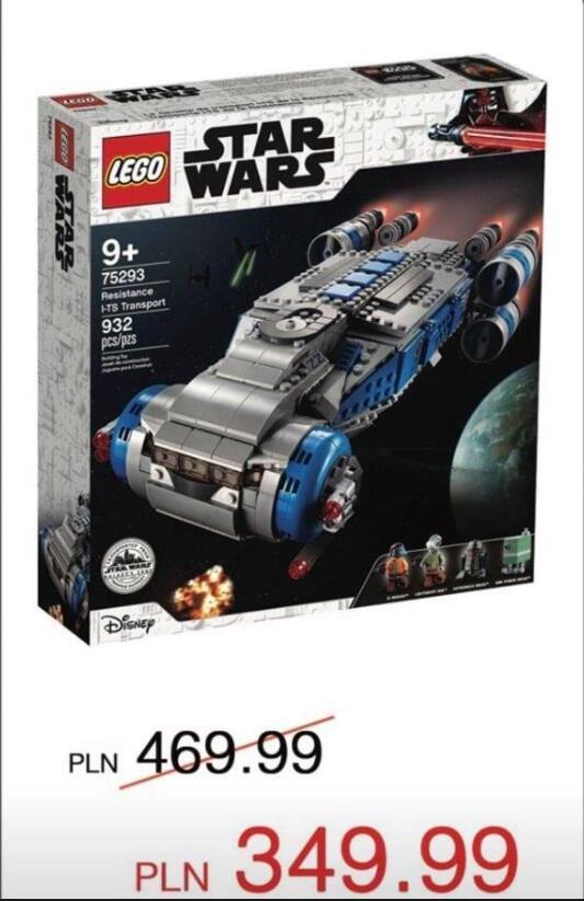 Zniżka na Lego w Lego Store Warszawa Mokotów