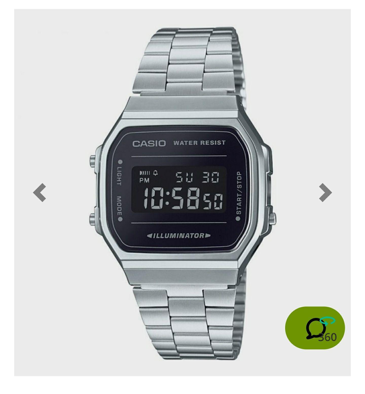 Zegarek Casio A168WEM-1EF