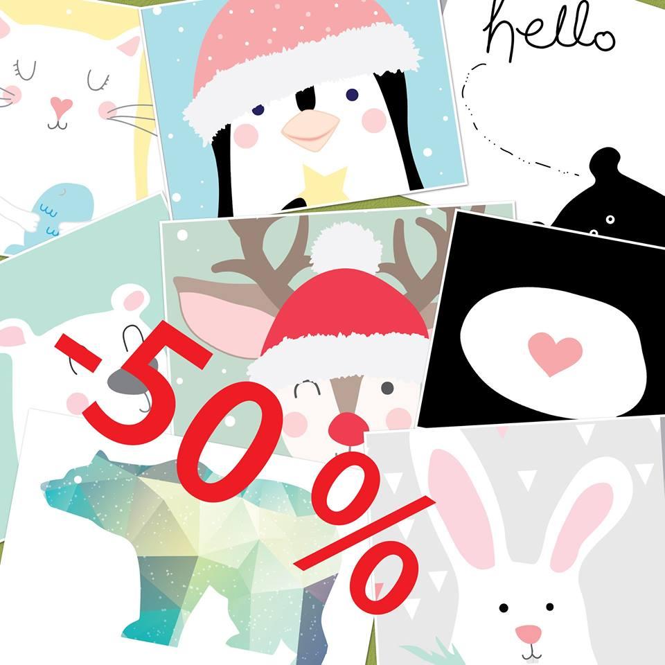 Poster Monster, Tylko w ten weekend (25-27.11.16) wszystkie zamówienia -50%!