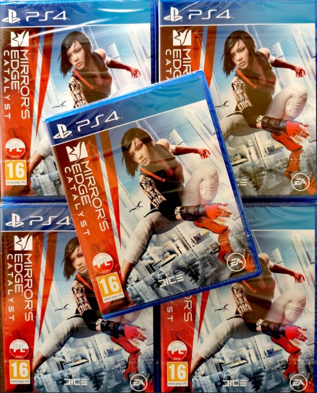 MIRRORS EDGE CATALYST PS4 PlayStation 4 POLSKA DYSTRYBUCJA