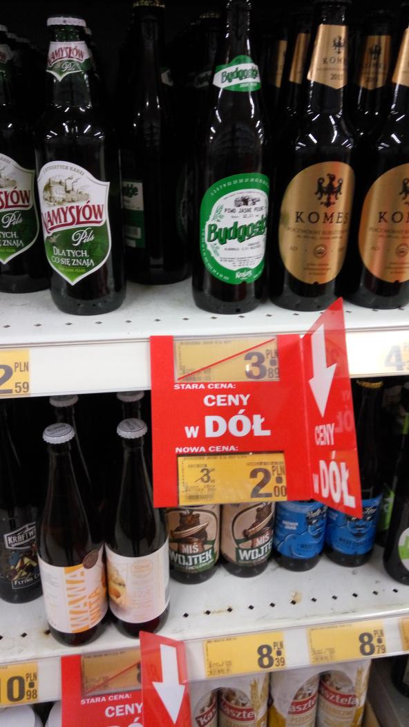Piwo Bydgoskie jasne @ Auchan Komorniki