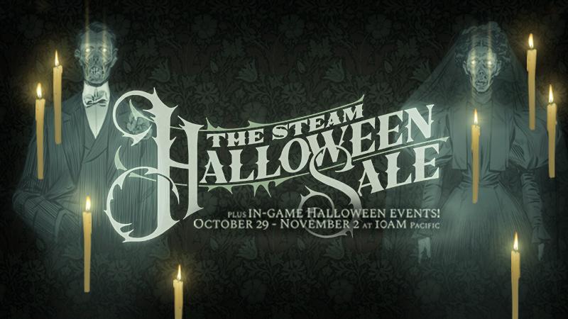Halloweenowa wyprzedaż Steam 2020