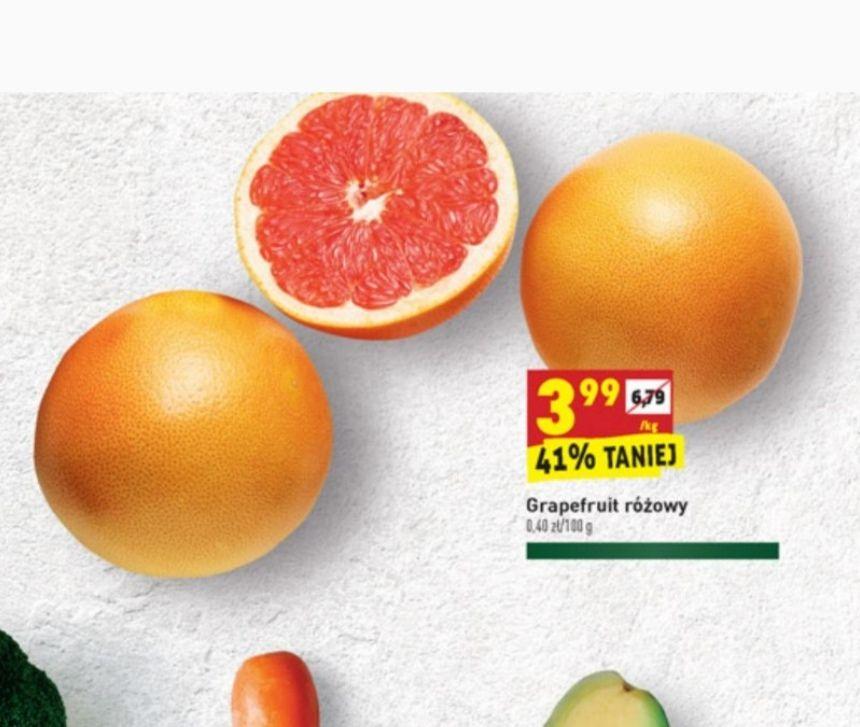 Grapefruit różowy - biedronka