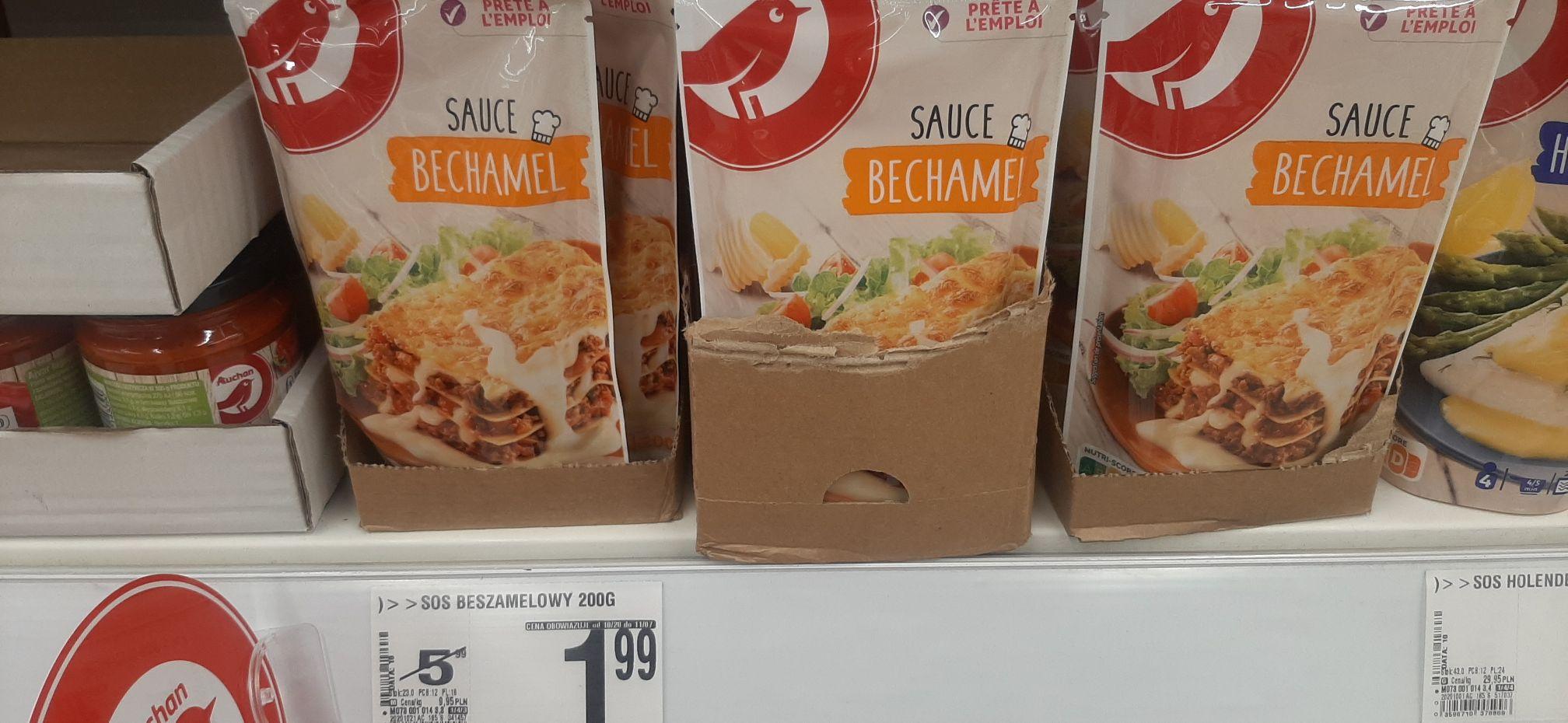 Sos Beszamelowy 200g / Auchan Ursynów