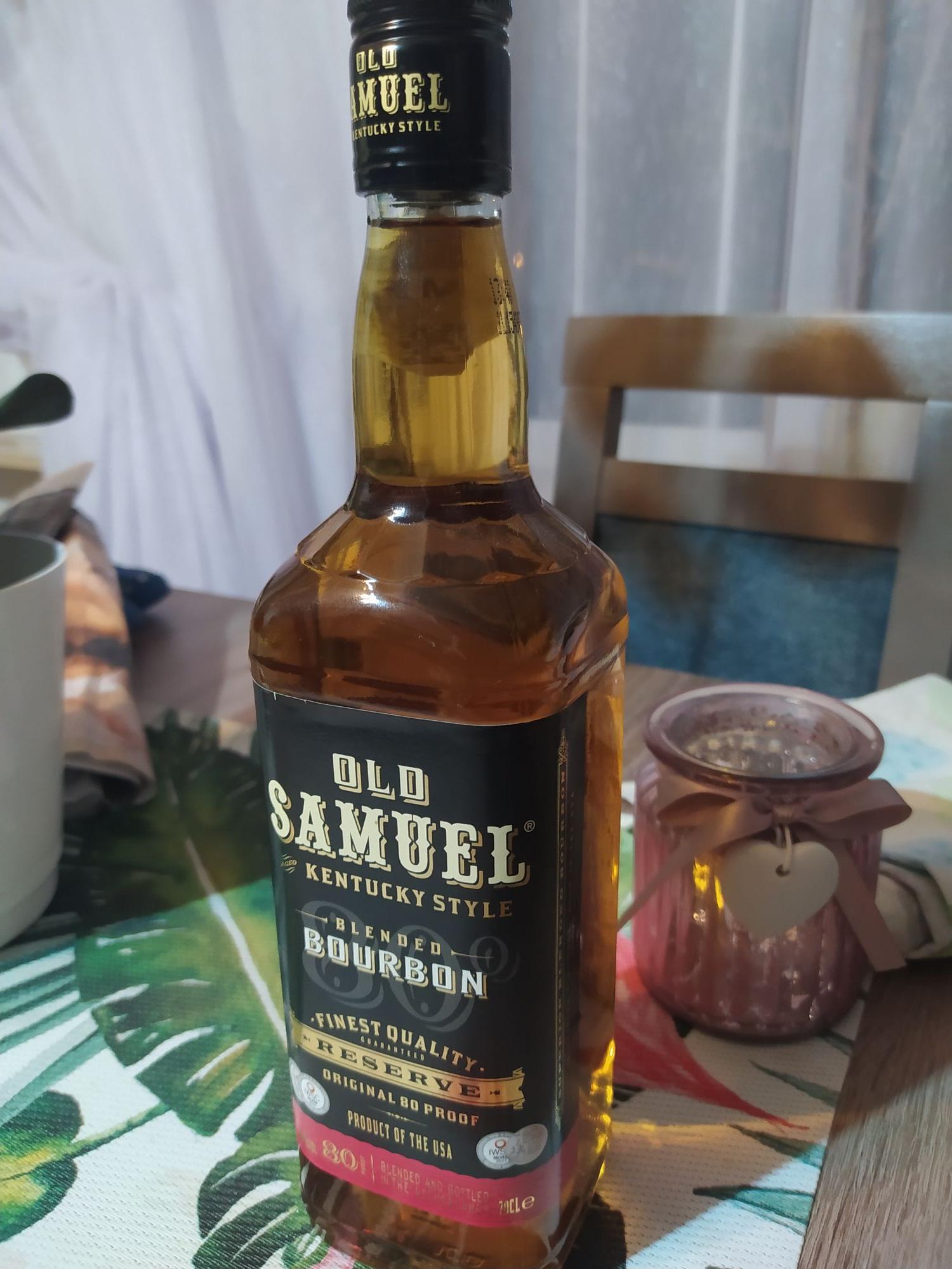 Old Samuel Bourbon 0,7l Biedronka