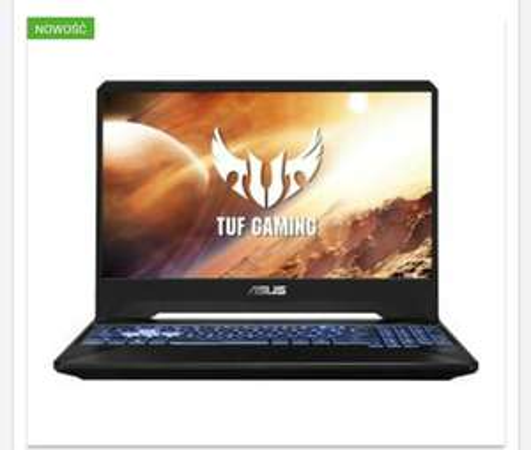 Laptop 144Hz RTX 2060 R7 3750H 512SSD 16GB ram ASUS TUF