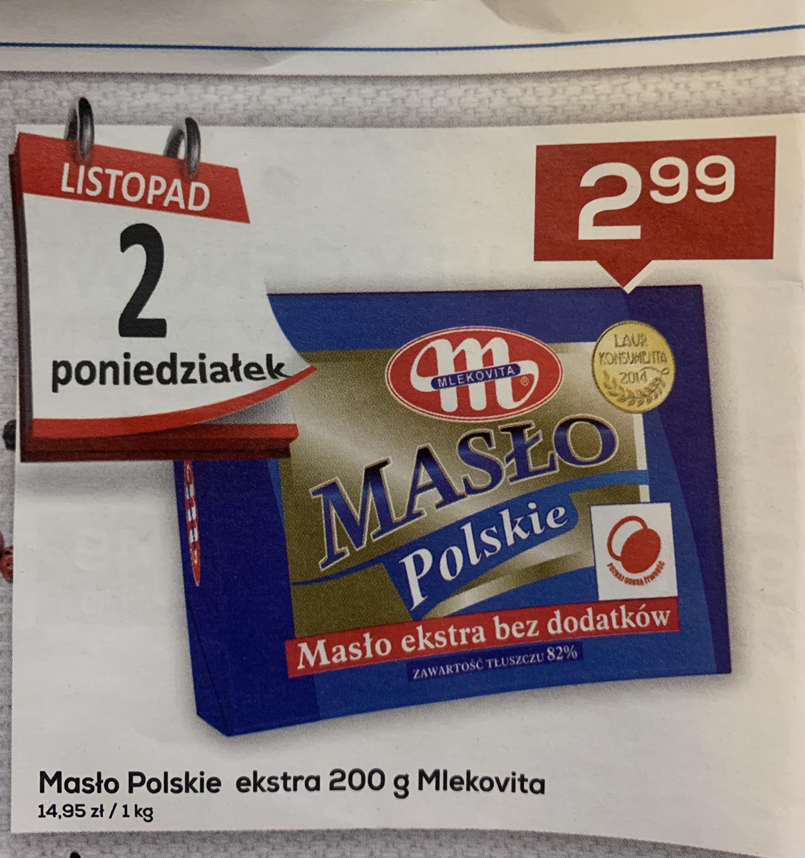 Masło Polskie 200g Mlekovita - Lewiatan Sędziszów