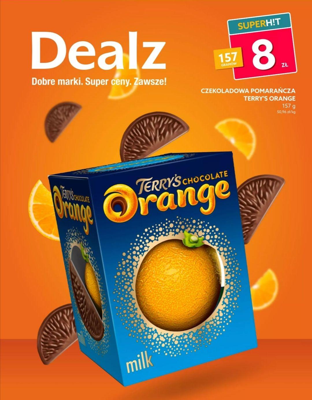 Terry's chocolate Orange - pomarańcza Dealz