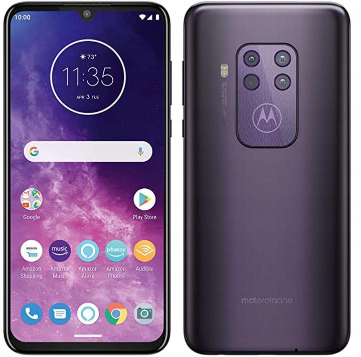 Smartfon Motorola Moto One Zoom 128GB Cosmo Purple, OLED, Quad kamera