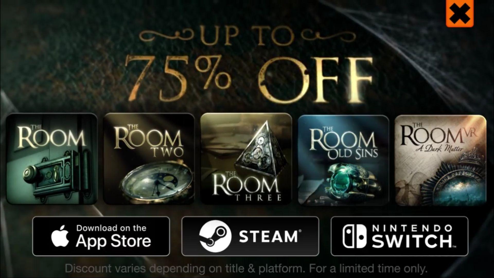 Seria The Room nawet do 75% taniej na Android, App Store, Steam i Nintendo Switch