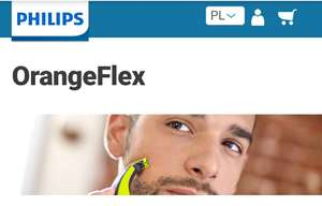 Kod zniżkowy voucher 40% sklep Philips dla klientów ORANGE FLEX