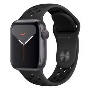 Apple Watch Series 5 Nike 40mm aluminium gwiezdna szarość
