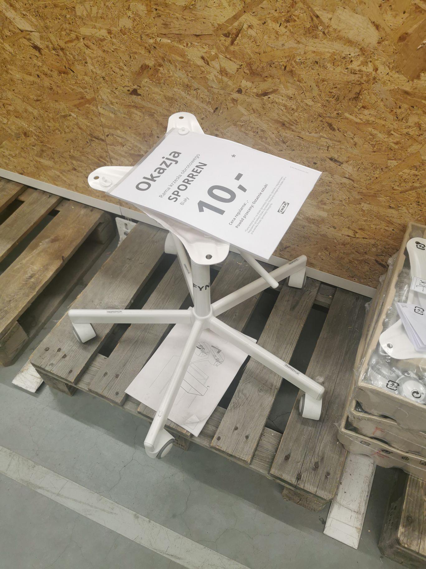 Rama krzesła obrotowego IKEA