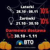 DARMOWA DOSTAWA i 10% na wybrany asortyment na BTO.pl HALLOWEEN