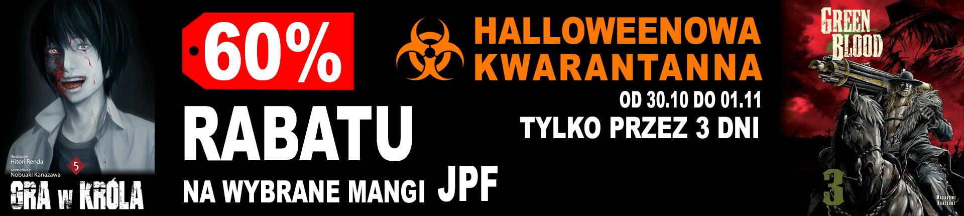 -60% na wybrane mangi JPF