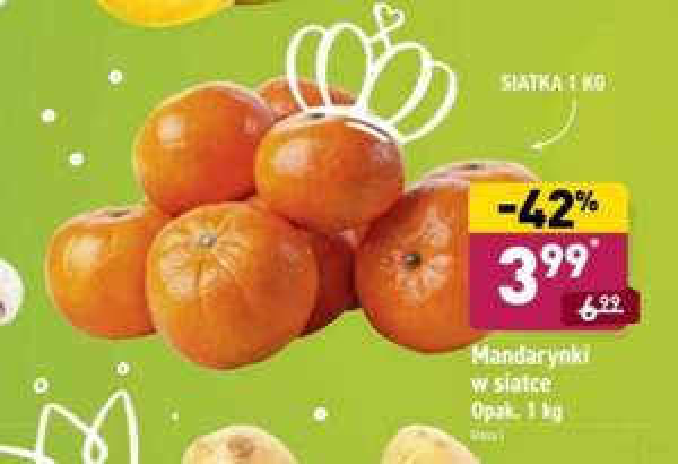 Mandarynki w Aldi