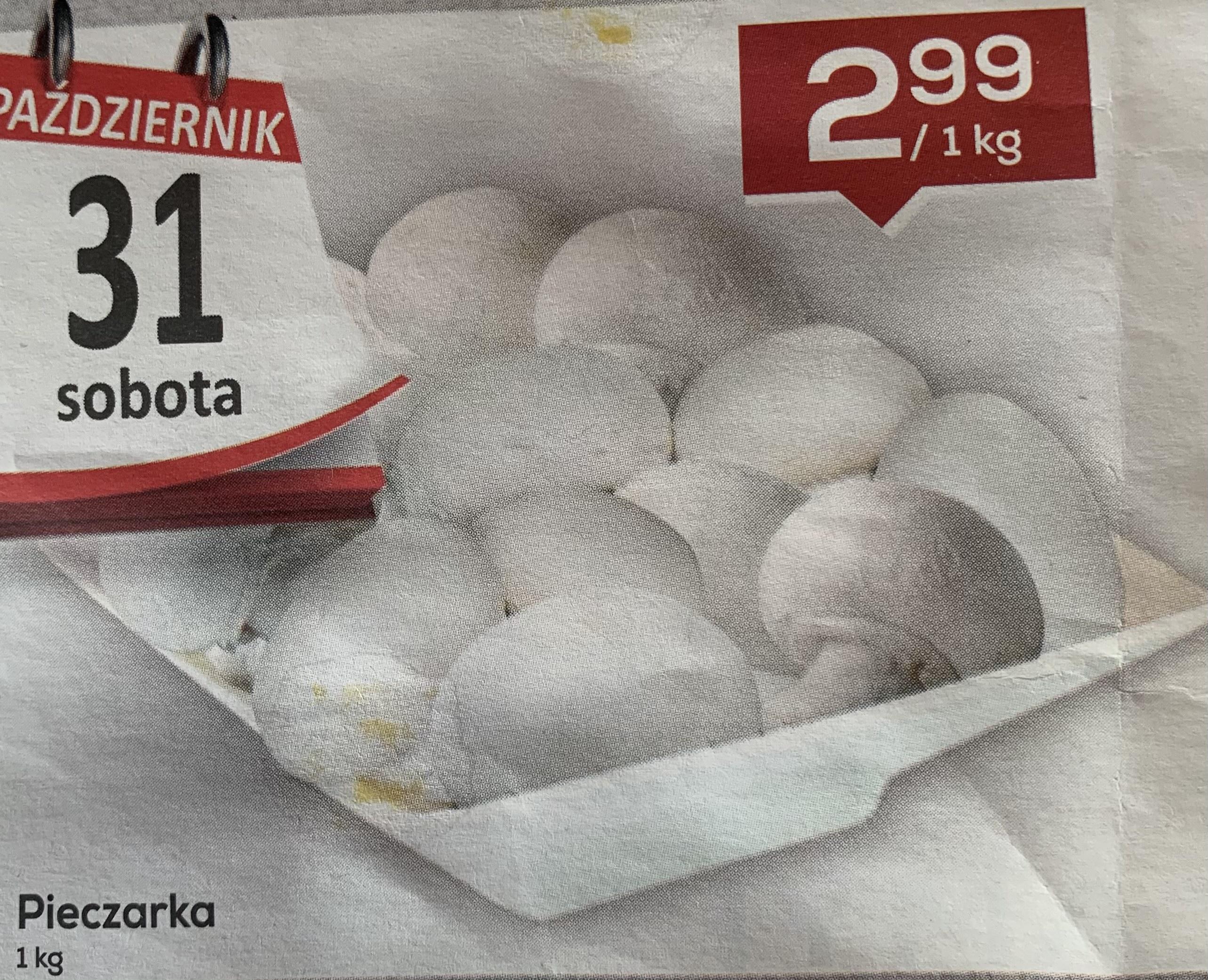 Pieczarka Polska 1kg - Lewiatan Sędziszów