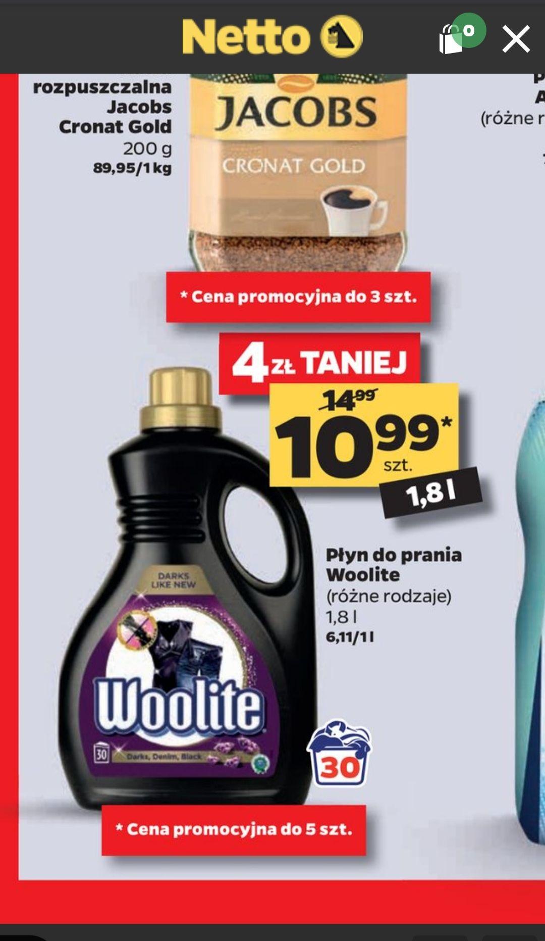Płyn do prania Woolite Black 30 prań