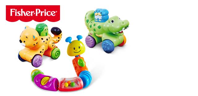 Zabawki Fisher Price dla maluszków w okazyjnej cenie 24,99zł @ Biedronka