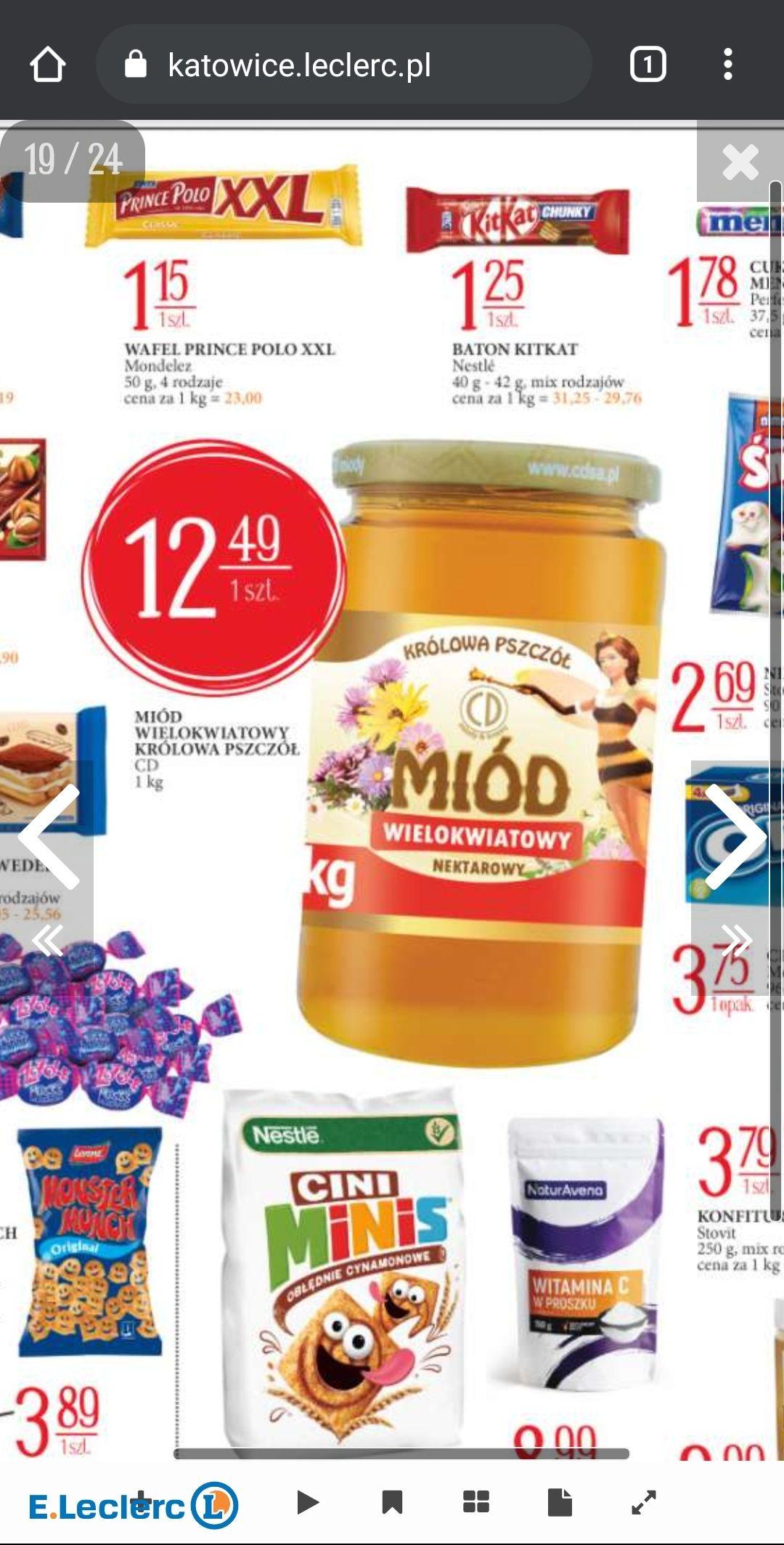 Miód Wielokwiatowy Królowa Pszczół 1kg