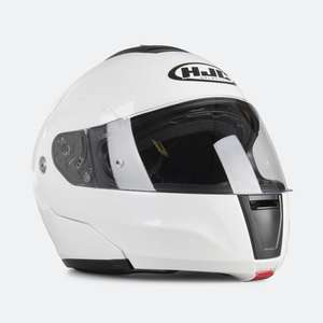 Kask motocyklowy szczękowy HJC C90 white pearl @xlmoto