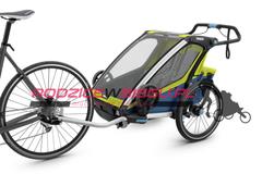 przyczepka rowerowa Thule Chariot Sport 2 zielono-niebieska