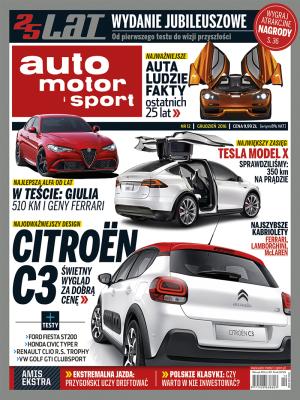 """Black Friday - 1000 egzemplarzy wydania cyfrowego """"auto motor i sport"""" od marki Citroen!"""