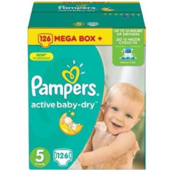 Pieluchy Pampers Junior 5 126 szt - taniej nie znajdziecie @frisco.pl
