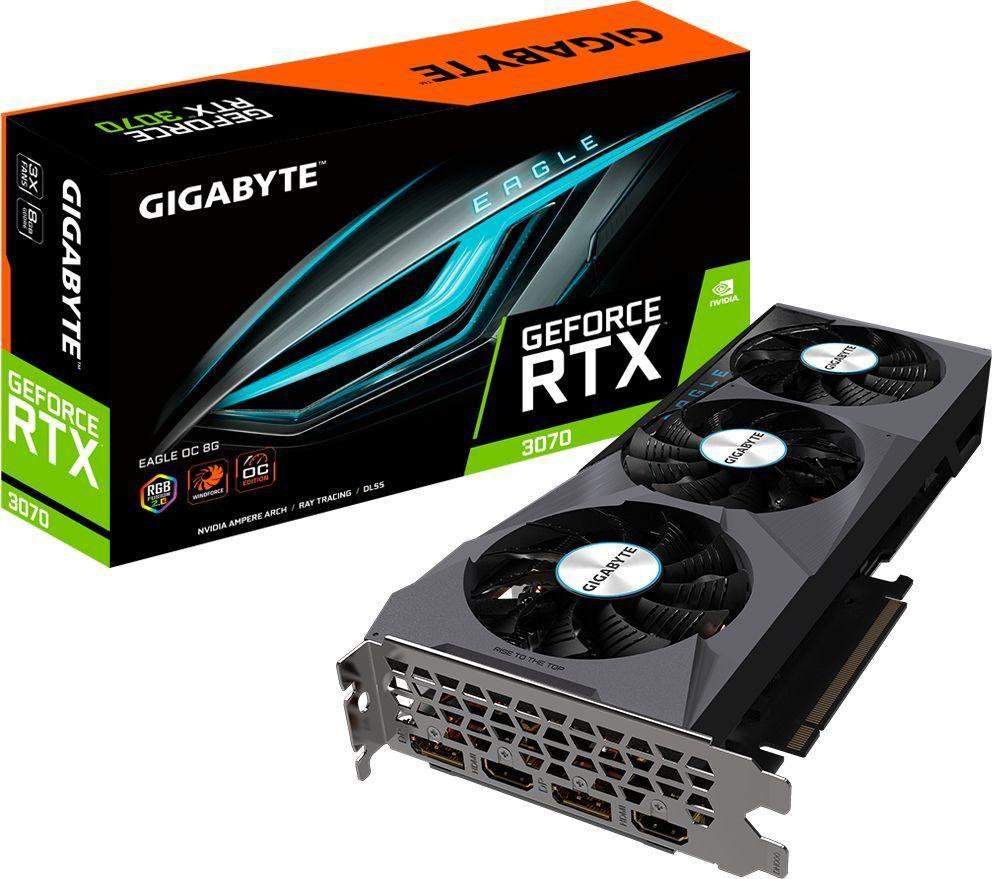 Karta graficzna Gigabyte GeForce RTX 3070 Eagle OC 8GB GDDR6