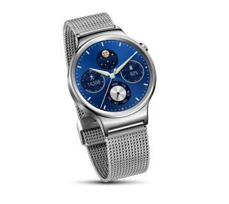 [Black Friday] Huawei Watch (srebrny) + stalowy pasek