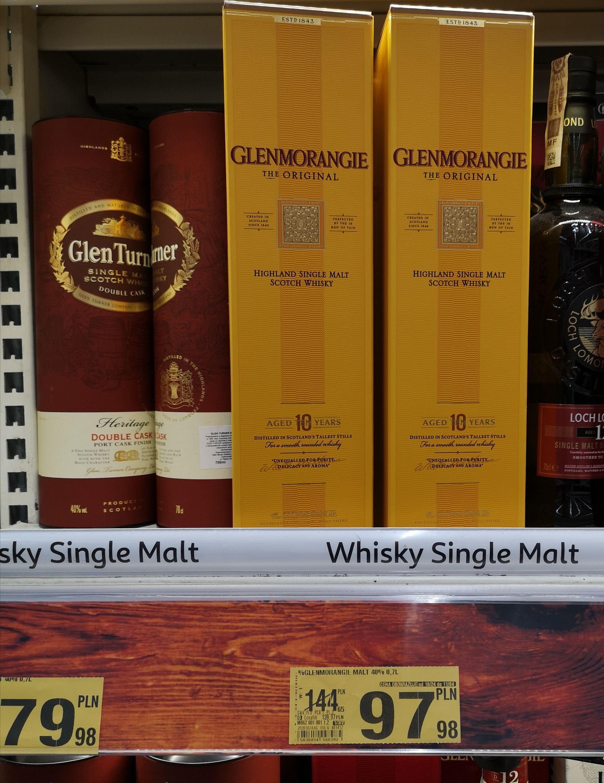 Whisky Glenmorangie 10YO 0,7l - Auchan