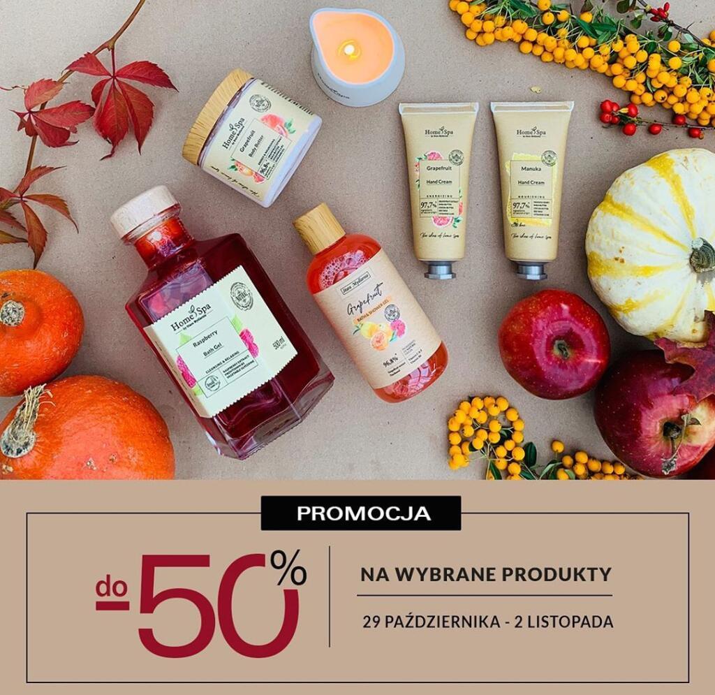 Promocja do -50% na wybrane produkty w Stara Mydlarnia