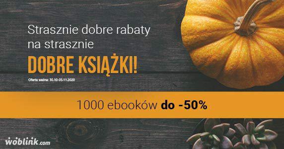 Strasznie dobre e-booki do 50% taniej - Woblink