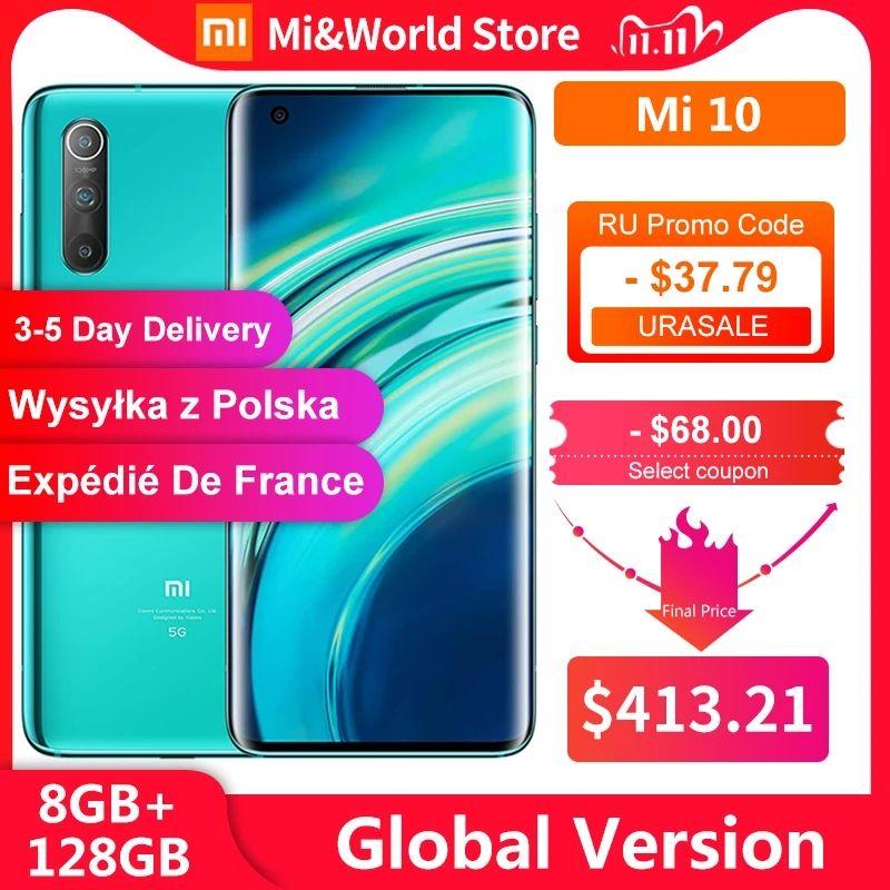 Xiaomi mi10 za 1635 zł ($413,21)