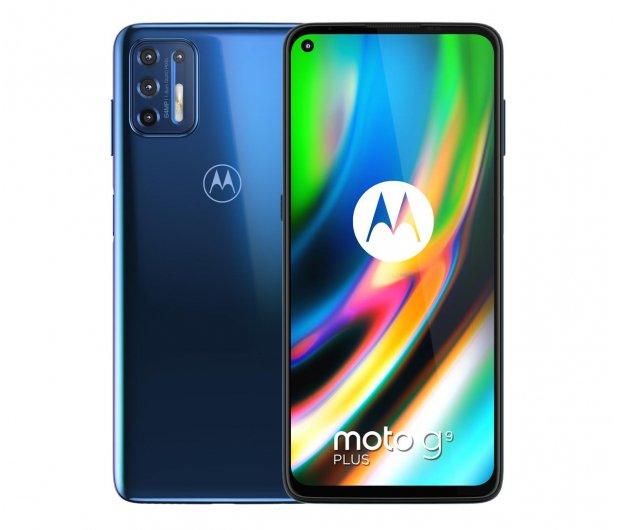 Smartfon Motorola Moto G9 Plus 4/128GB Navy Blue + antywirus + darmowa dostawa