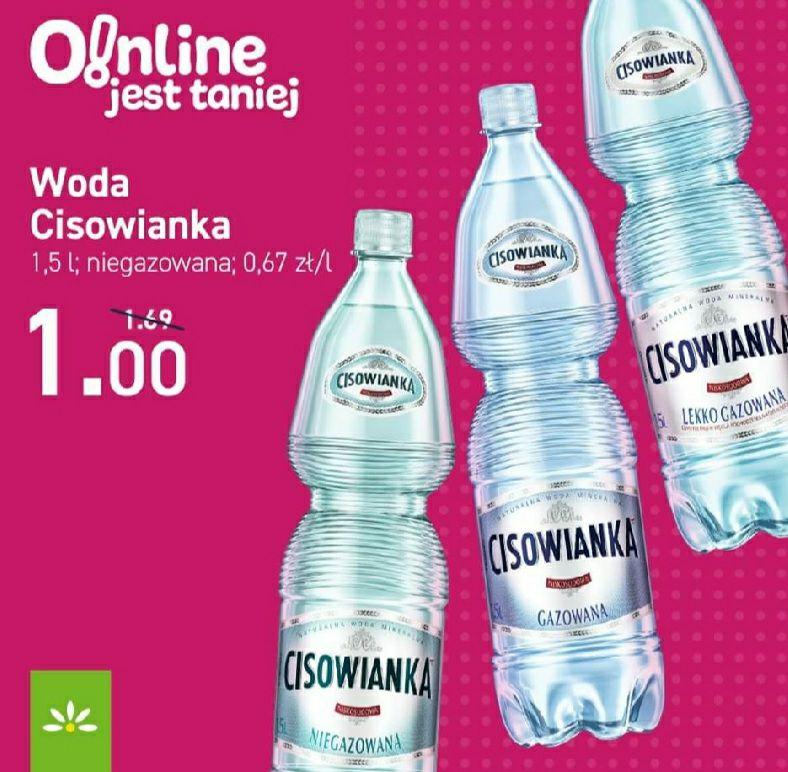 [Stokrotka] Woda niegazowana 1,5L Cisowianka