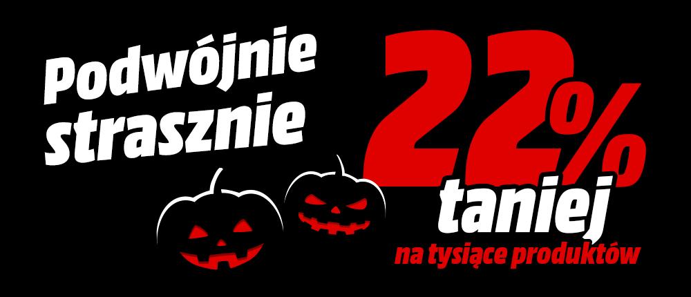 Podwójnie strasznie: wróciła akcja promocyjna Media Markt z okazji Halloween