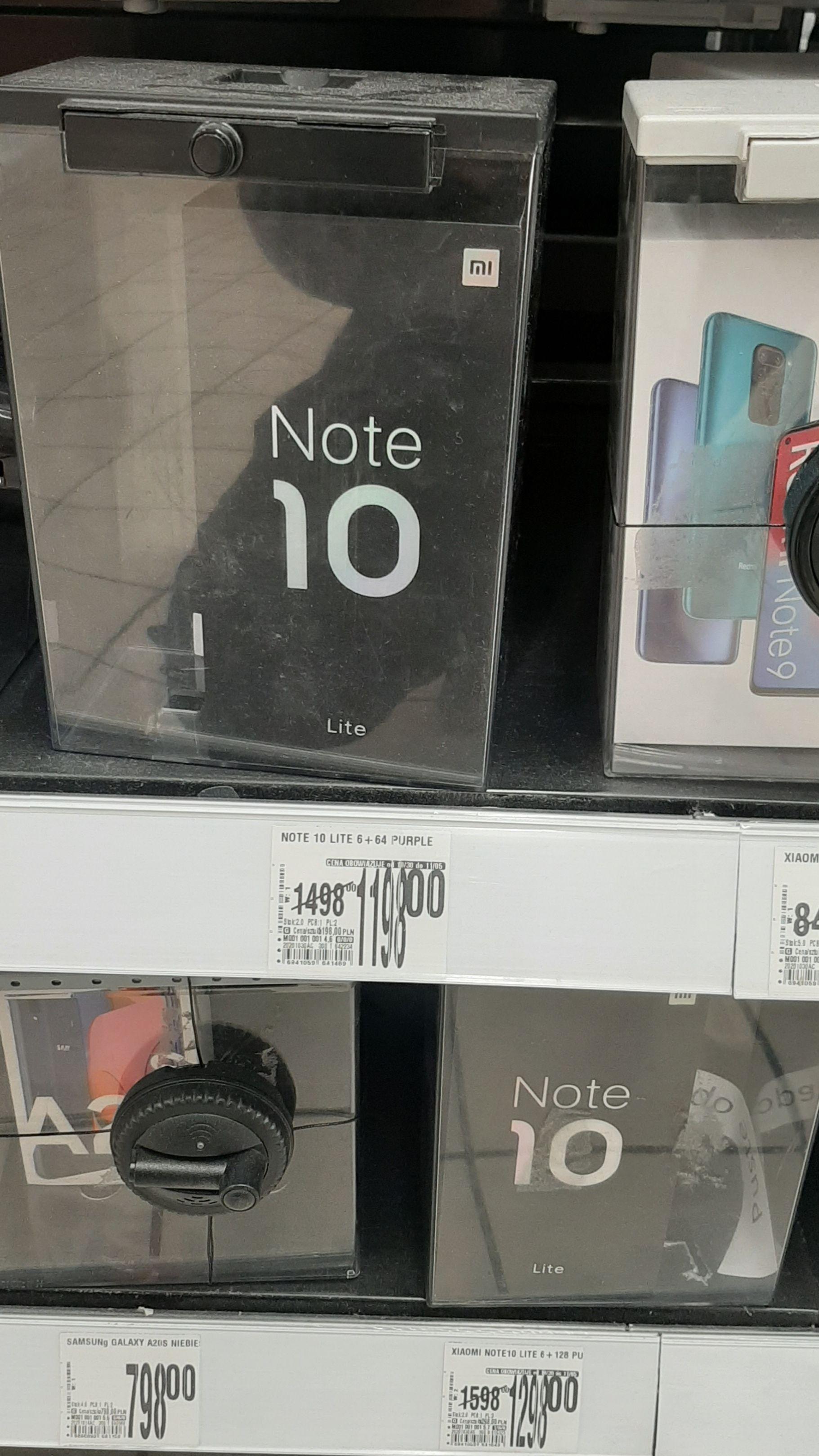 Xiaomi Mi Note 10 lite 6/64 i 6/128 (Purple) - Auchan (ogólnopolska)