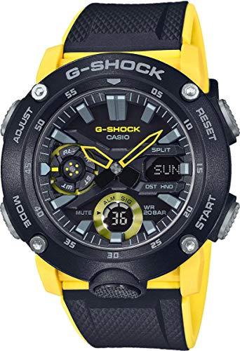 Casio G-SHOCK GA-2000-1A9ER Żółty niemiecki Amazon.