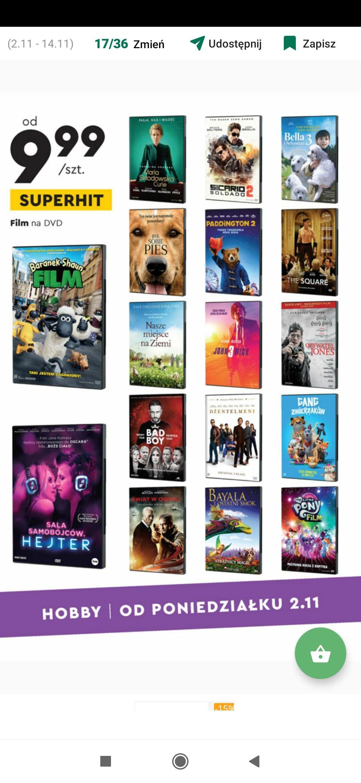 Filmy DVD, nie starocie